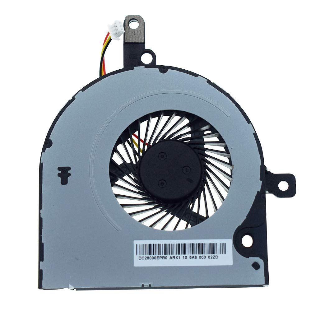 DREZUR CPU Cooling Fan Compatible for Toshiba Satellite C55-B C50-B C50D-B C50T-B C50DT-B C55D-B C55T-B C55-B5100 C55-B5200 C55-B5300 Series Laptop