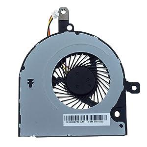 DREZUR CPU Cooling Fan Compatible for Toshiba Satellite C55-B C50-B C50D-B C50T-B C50DT-B C55D-B C55T-B C55-B5100 C55-B5200 C55-B5300 Series Laptop