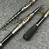 Best Bass Fishing Poles - Yiwa Telescopic Fishing Rod Saltwater Travel Spinning Fishing Review