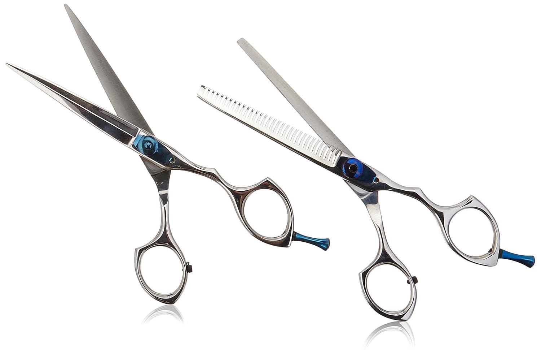 Suvorna Ador 6 Professional Barber Razor Edge Hair Cutting Shears / Scissors 2 Pcs Set 3131