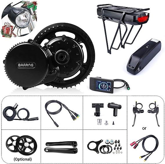 Bafang Bicicleta eléctrica BBS01B 350W 48V Kit de conversión de ...