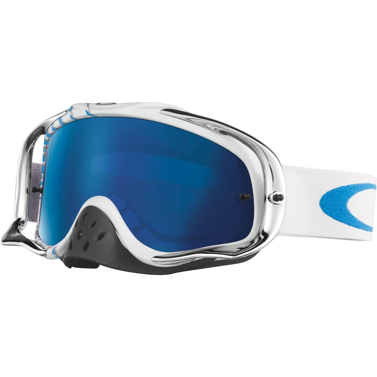 Oakley Crowbar MX Men's Goggles (RV High Octane RWB Frame/RV High Octane RWB Lens)