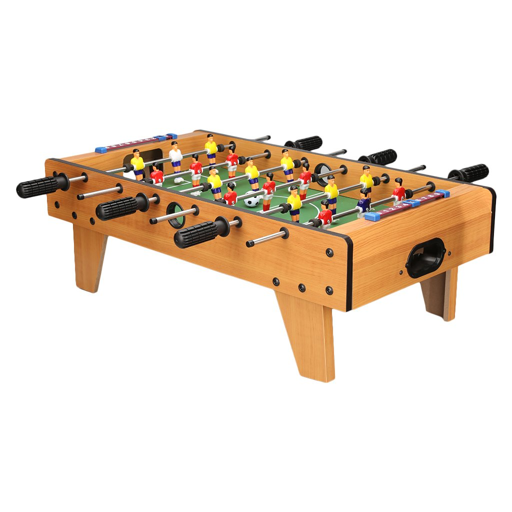 Virhuck Mini Table Football Game 19 Inch , 6-Foot Foosball Soccer Game Set Gifts for Kids, Indoor and Outdoor Use
