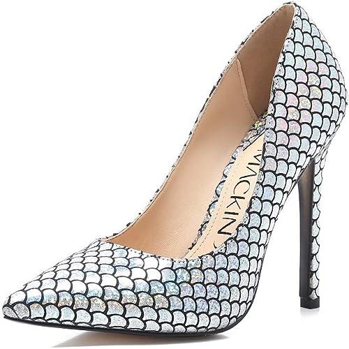 Anne Michelle Tribunal Zapatos De Las Señoras Metálico