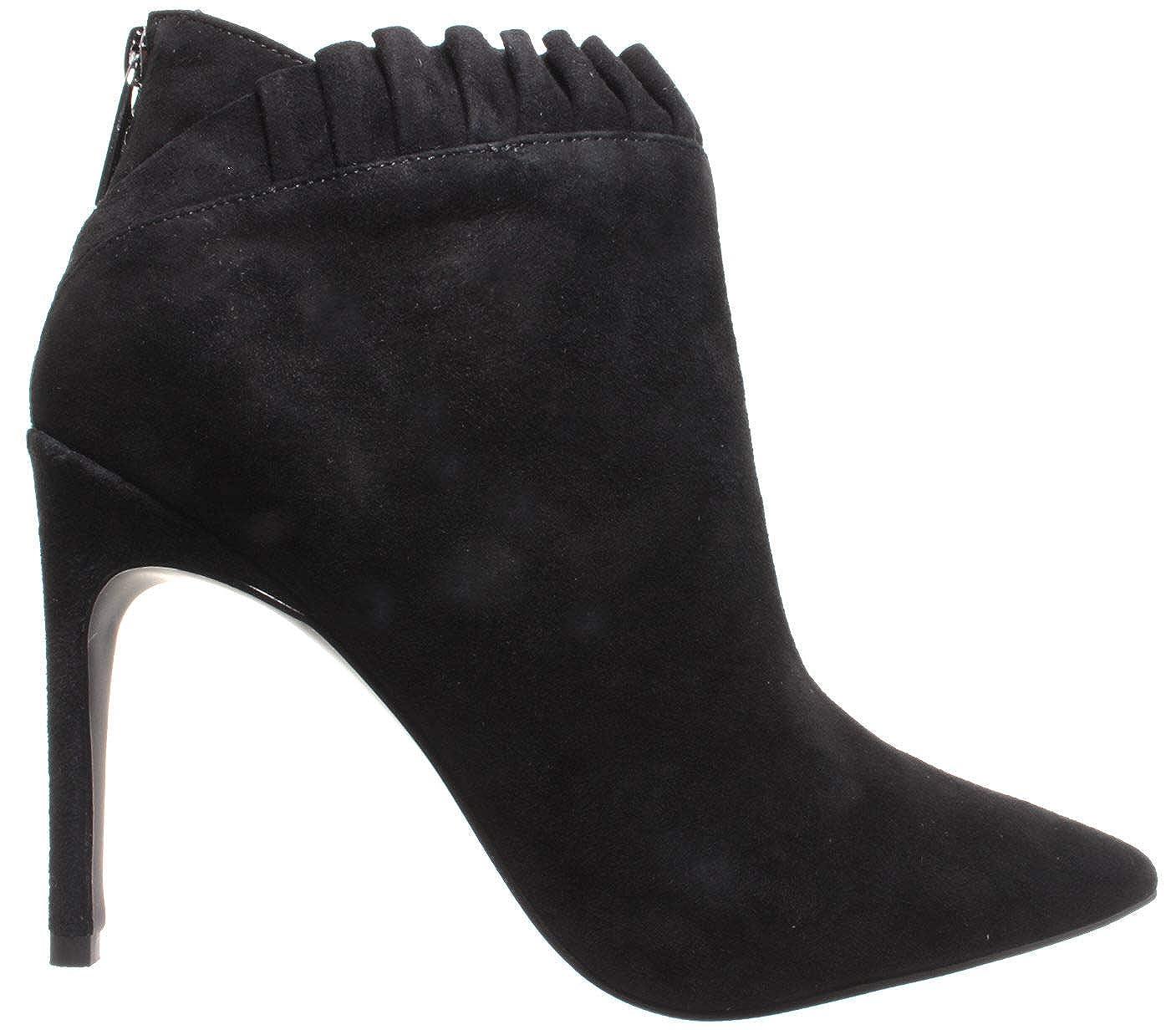 15b1dfed996 Liu Jo Women s Ankle Boot Shoes Heels Lola 05 Booty Kid Suede Black New   Amazon.co.uk  Shoes   Bags