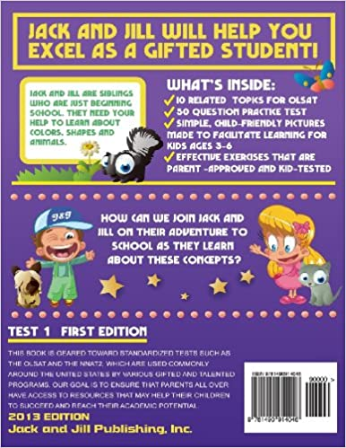Amazon.com: Gifted and Talented Test Prep 1: Geared For NNAT and ...