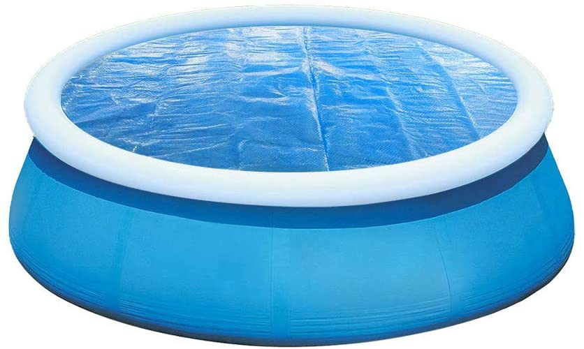 Round Pool Cover Solar Cover for 4-15ft Diameter Ground Protection Swimming Frame Pools