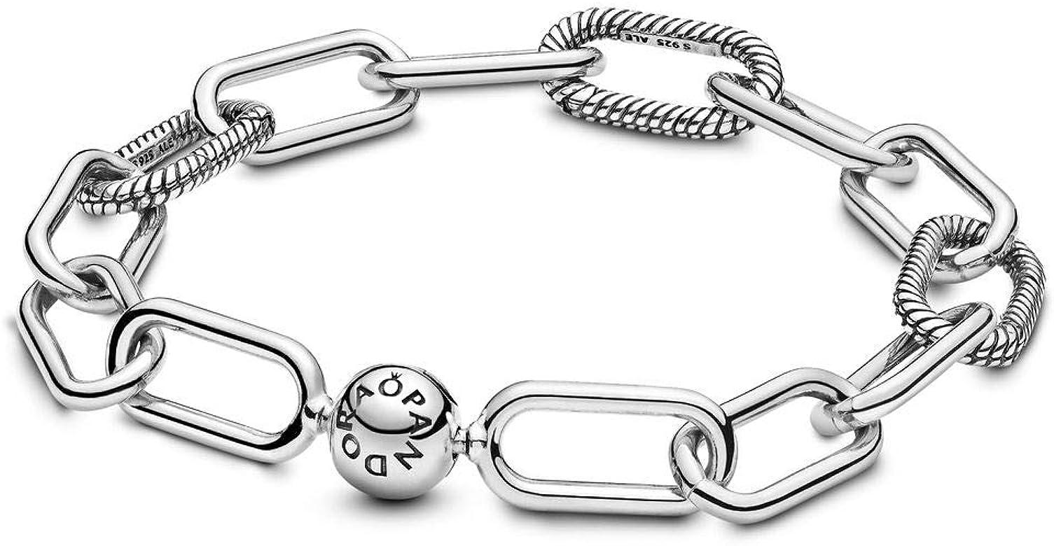 Pandora Cadena pulsera Mujer plata - 598373-2: Amazon.es: Joyería