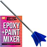 Better Boat Epoxy Mixer and Paint Mixer Drill Attachment