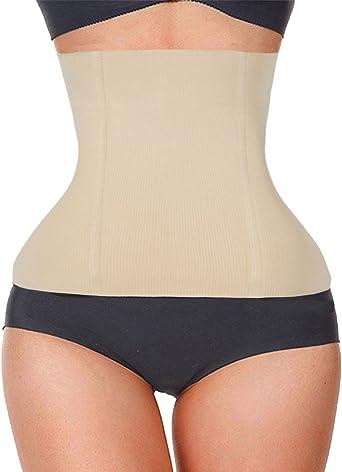 Women/'s Postpartum Waist Trainer Belt Body Shaper Belly Wrap Compression Bands