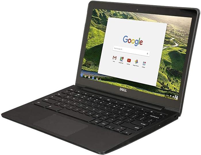 """Dell Chromebook 11 - 3180 Intel Celeron N3060 X2 1.6GHz 4GB 16GB 11.6"""",��Black��(Scratch and Dent) (Renewed)"""