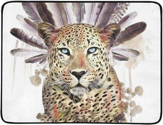 WOCNEMP Leopardo Camiseta diseño gráfico del Tatuaje Animal Print ...