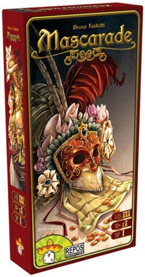Repos Production- Mascarade - Español, Color (Asmodee MAS01ML): Amazon.es: Juguetes y juegos