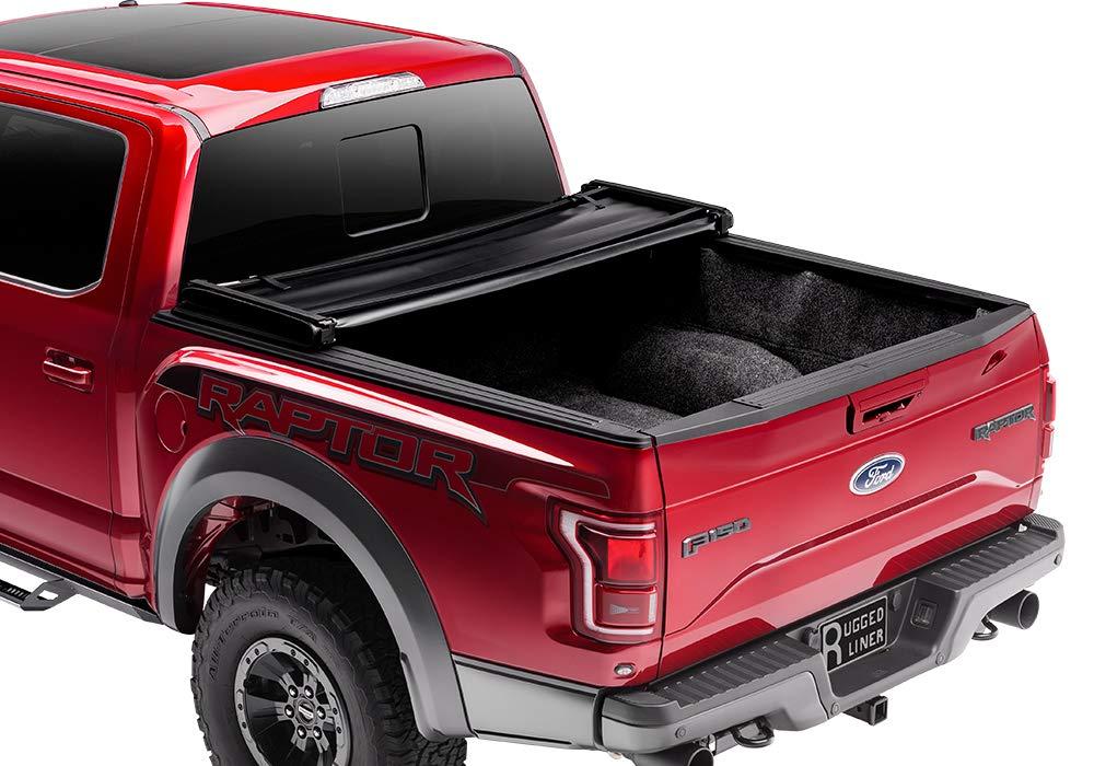 Rugged Liner FCDD505 Tri-Fold Tonneau Cover for Dakota Quad Cab 5 Bed