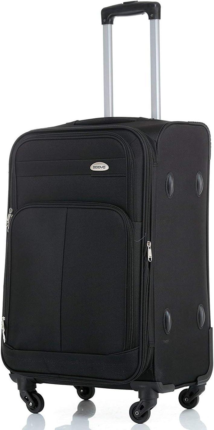 Valise de voyage XL avec 4 roulettes doubles 74 cm Soufflet extensible pour plus de volume XL Volume : 115 l 4,2 kg anthracite