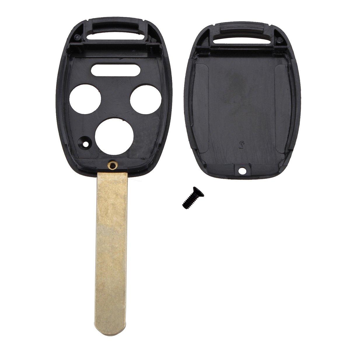 WINOMO Case Keyless Entry Remote Head Key Case Cover Keycase for Honda