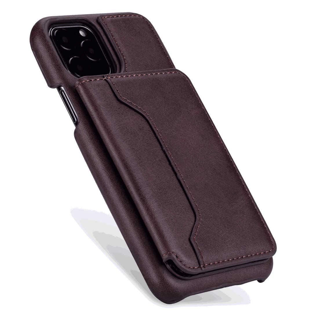 Positive Cover Compatible with Samsung Galaxy A50 Black PU Leather Wallet Flip Case for Samsung Galaxy A50