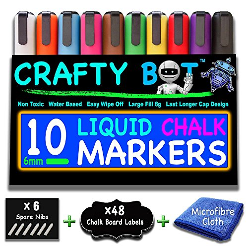 Crafty Markers Microfiber Reversible Assorted