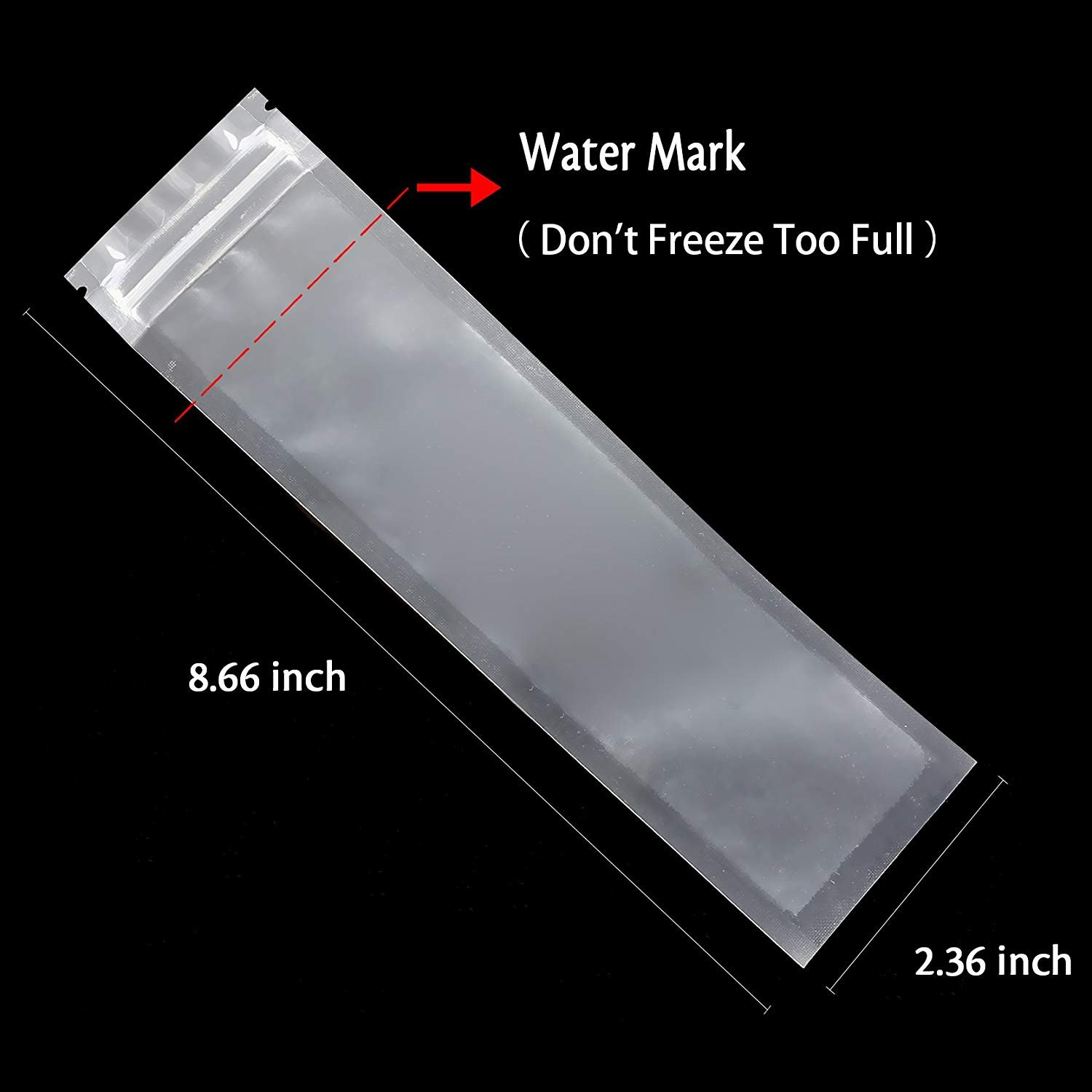 Comes With A Funnel DDD-031-1 Otter Pops or Freeze Pops Ice Candy BPA Free and FDA Approved Popsicle Bags Maker Disposable DIY Ice Pop Mold Bags for Gogurt Ozera 150 Pack Popsicle Molds Bags