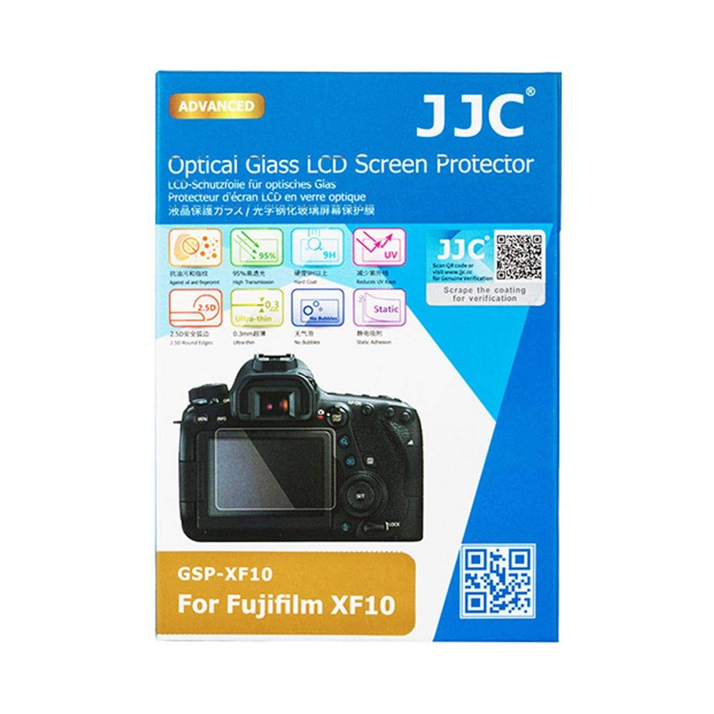 JJC GSP-XF10 0.3mm Optical Glass LCD Screen Cover Protector for Fujifilm XF-10