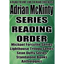 Adrian McKinty: Series Reading Order: A Read to Live, Live to Read Checklist [Michael Forsythe Series Lighthouse Trilogy Series Sean Duffy Series]