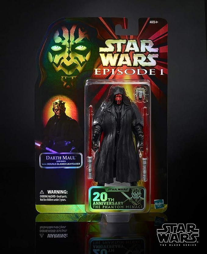 STAR Wars il nero serie Celebration Darth Maul figure