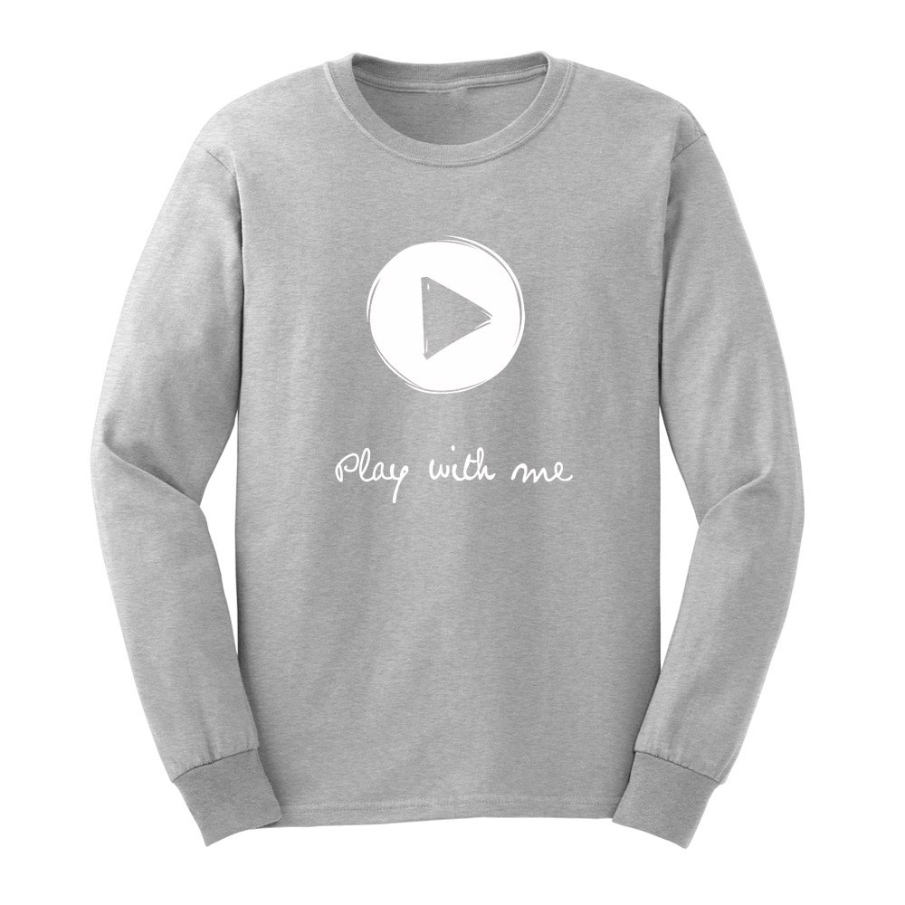 Loo Show S Play With Me Graphic Adult T Shirts Casual Tee