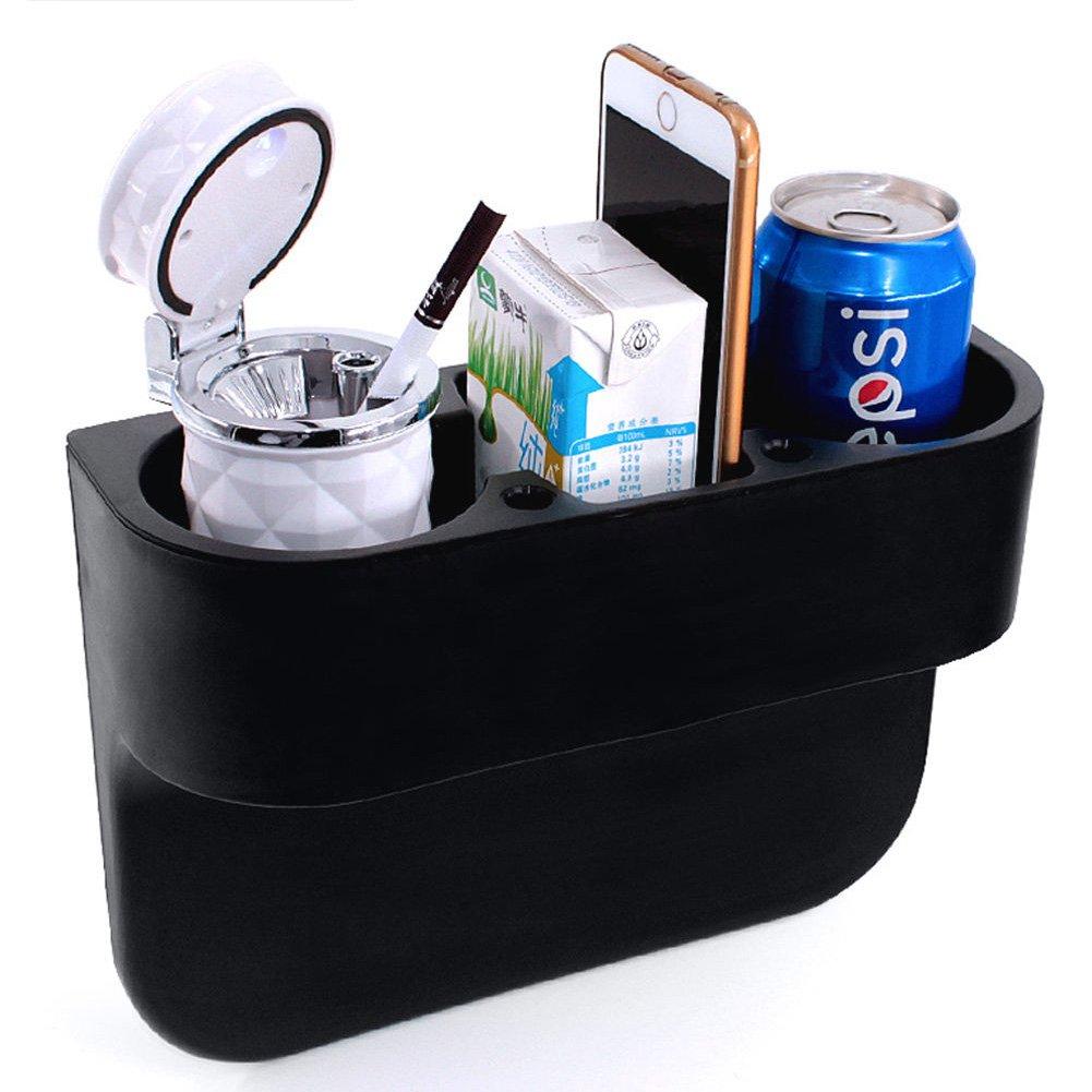 2 Cup Holder Drink Beverage Black Seat Wedge Car Van Storage Universal Mount Drinking Bottle Can Mug Mount Stand YU AN