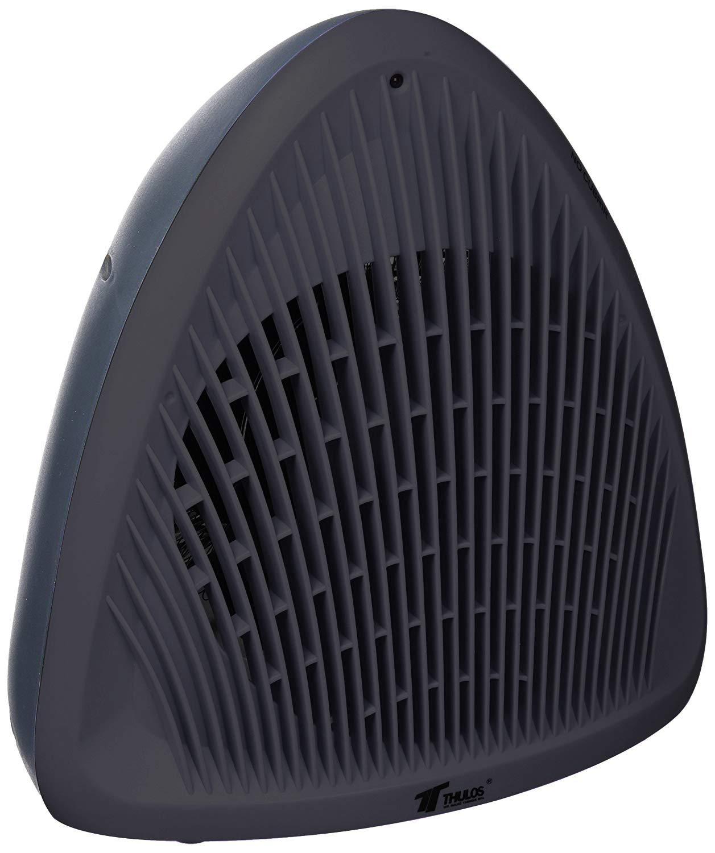 Thulos Termoventilador Calefactor 2000W Estufa electrica de Alta Potencia y diseño Negro, plastico, 23,2 x 16 x 24,2 cm: Amazon.es: Hogar