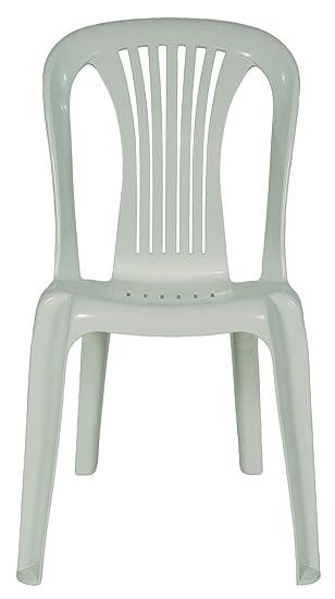 Areta Ar002 Iride Chaise Bistrot Blanc Amazon Fr Jardin