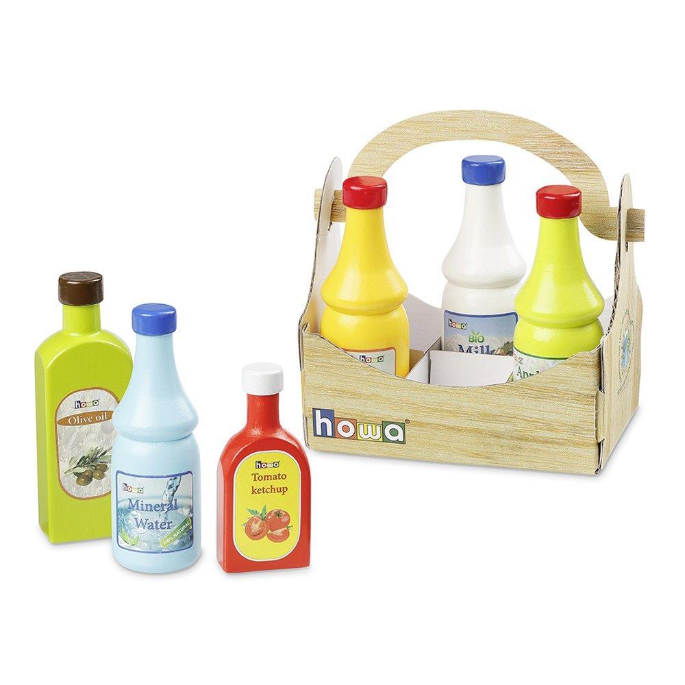 howa Kaufladenzubehör Flaschenset