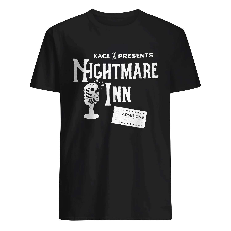 80s Kacl Presents Nightmare Inn Radio Shirts