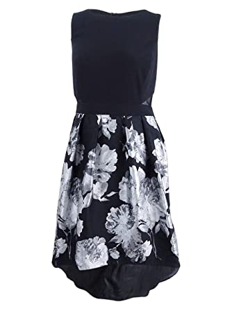 c3f45550ee8ee Xscape Womens Plus Floral Brocade Semi-Formal Dress at Amazon Women's  Clothing store: