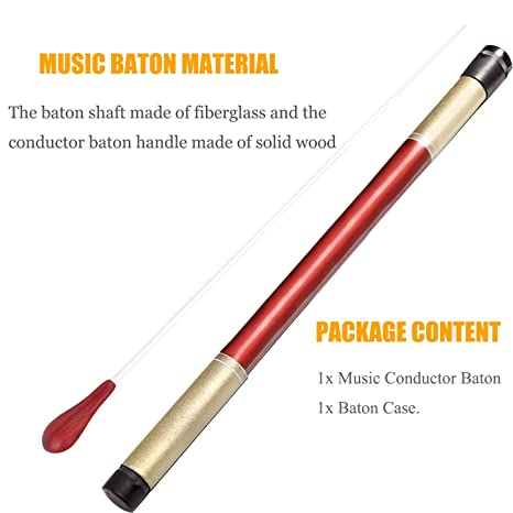 Special Summer Sale Equipment Alert Band Director Orchestra Conductor Baton And Wood Case