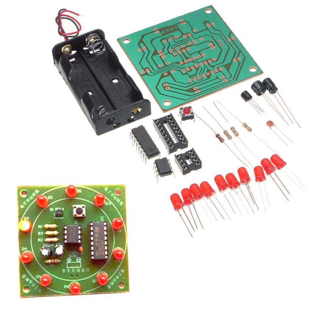 Yongse DIY Wheel of Fortune Training Kit Electrónico Lucky Rotary ...