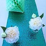 Emerald Green Sequin Table Runner (14''108'')