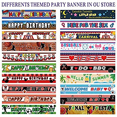 Colormoon Large 40th Birthday Banner, 40th Birthday Party Supplies Decorations, 40th Birthday Sign - Never Looked So Good (9.8 x 1.5 feet): Toys & Games