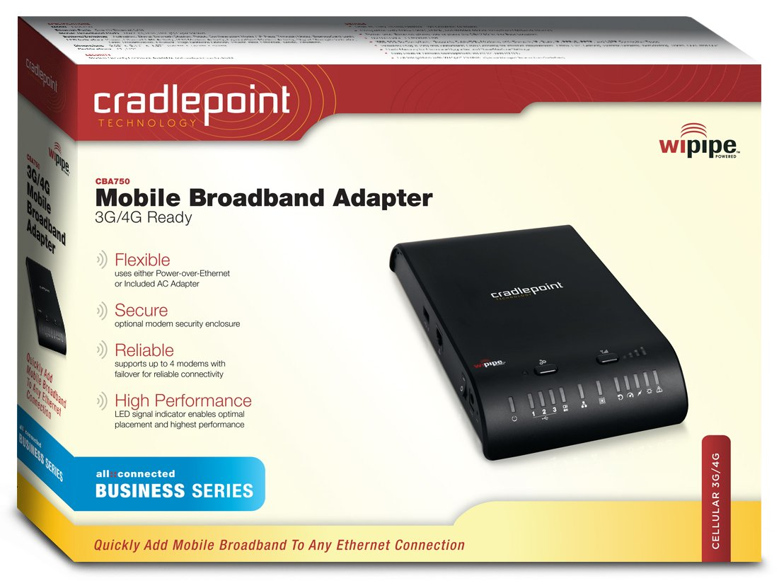 CRADLEPOINT CBA750 ROUTER DRIVERS DOWNLOAD