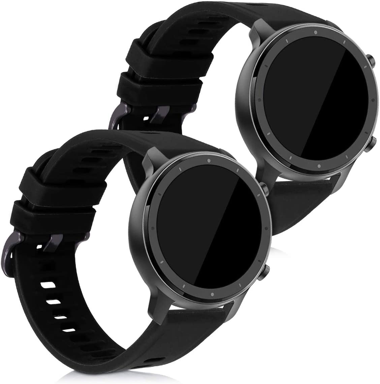 Malla para  Xiaomi Huami Amazfit GTR (47 mm)Silicona Negra