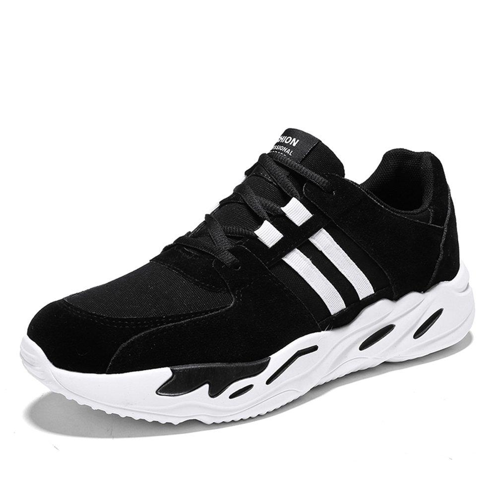 MUOU Schuhe Herren Freizeitschuhe Outdoor Sneaker Lace-Up Graffiti Wanderschuhe Spring Fashion Schuhe Sportschuhe  40 EU|Schwarz-Wei?