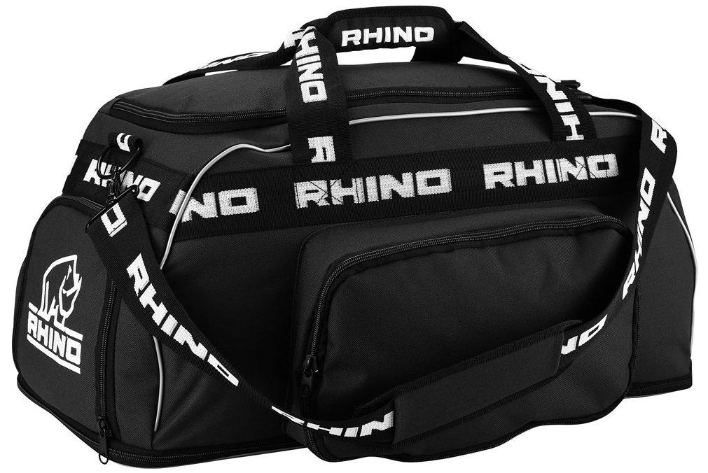 Rhino Rugby Players Holdall Kit Bag - Black: Amazon co uk: Sports