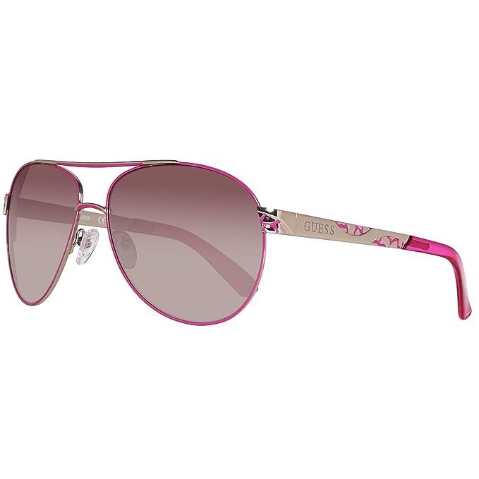 Guess Sonnenbrille Gf0282 32F 61 Gafas de sol, Rosa, 61.0 ...