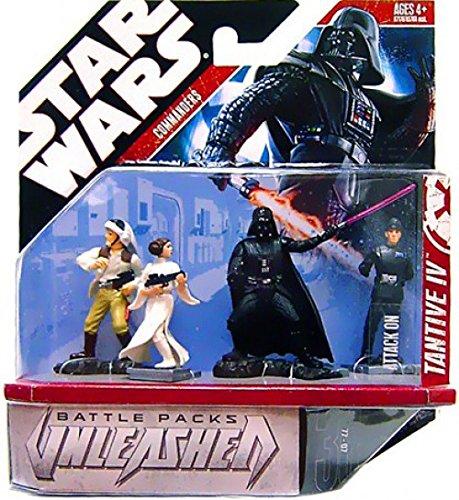 Star Wars Unleashed Battle 4 Pack Episode 4 Commanders