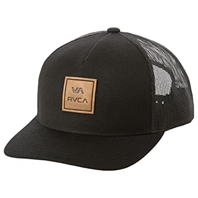 8497a48e02dcf Amazon.com  RVCA Men s VA All The Way Curved Brim Trucker HAT