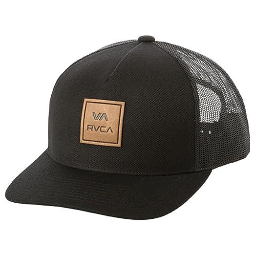 25c9b2bc7e9 Amazon.com  RVCA Men s VA All The Way Curved Brim Trucker HAT