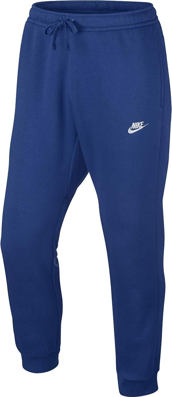 New Nike Mens AV15 Knit Jogger Sweatpants Obsidian Blue//Heather//White All Sizes