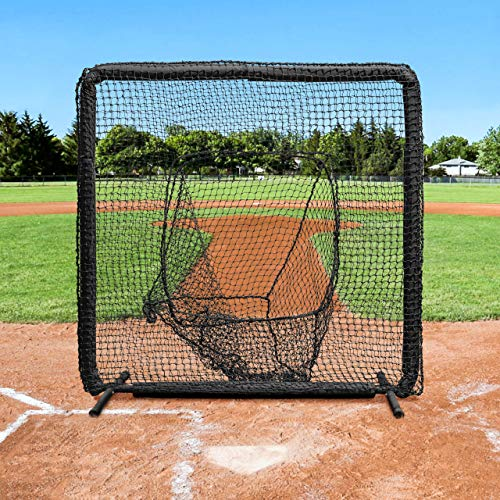 Fortress Pro Baseball Sock Net Screen Nimitz Edition 7ft x 7ft Galvanized Steel Frame