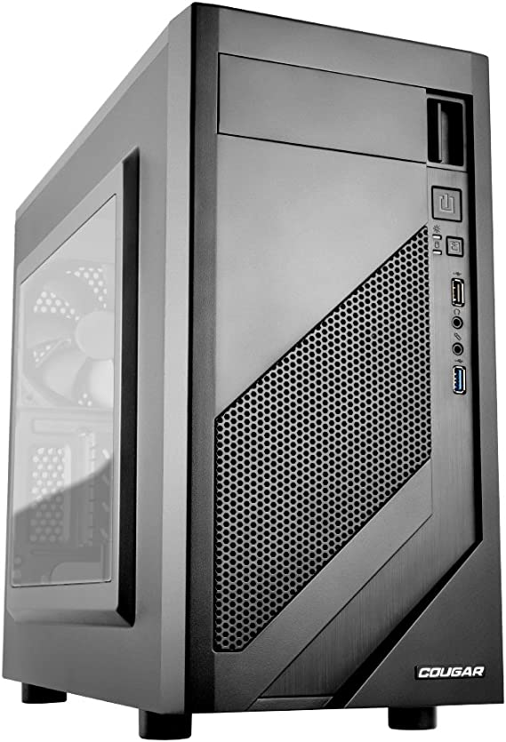 COUGAR Gaming MG110-W Mini-Tower Negro - Caja de Ordenador (Mini-Tower, PC, Acrílico, Metal, Negro, Micro ATX,Mini-ITX, Juego): Amazon.es: Informática