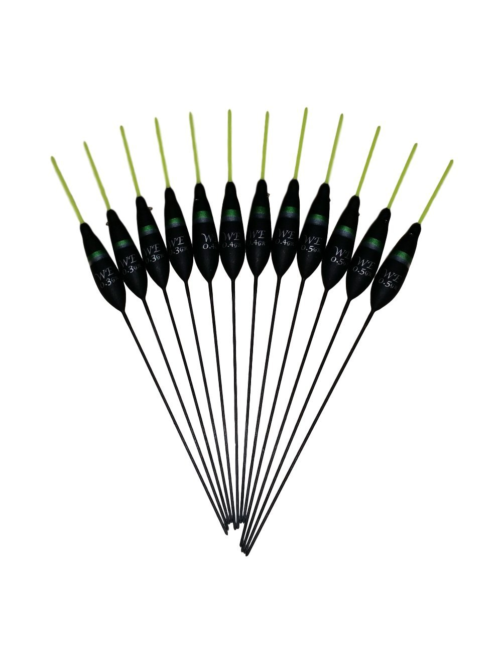 Pack 306R8 8 x  Assorted High Quality Pole Fishing Floats