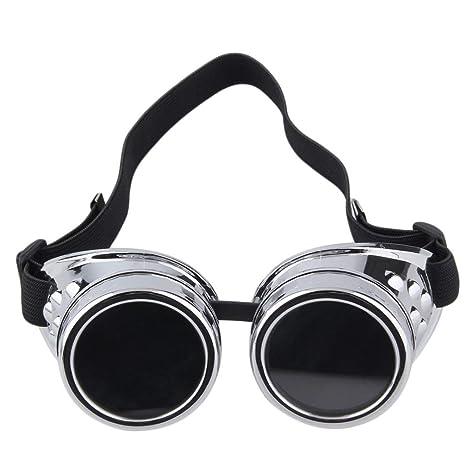 Monllack Profesional cibernético de Steampunk Gafas Gafas de Soldadura de la Vendimia del Punk gótico Victoriano